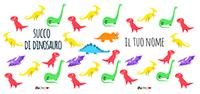 Borraccia alluminio succo di dinosauro