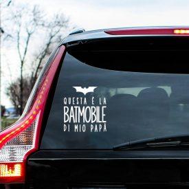 Wallstickers Natura e Viaggi Bat Mobile Auto Bimbi