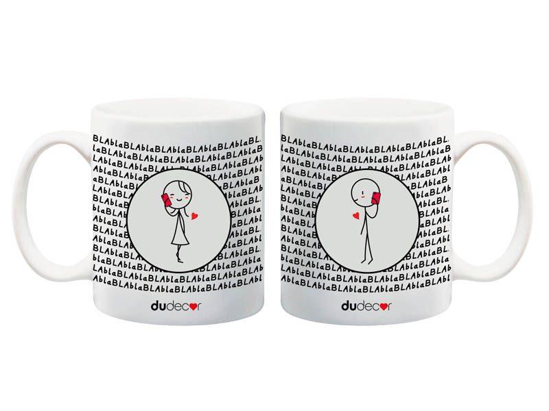 Tavola e cucina Tazze in ceramica Bla Bla Mug Mugs
