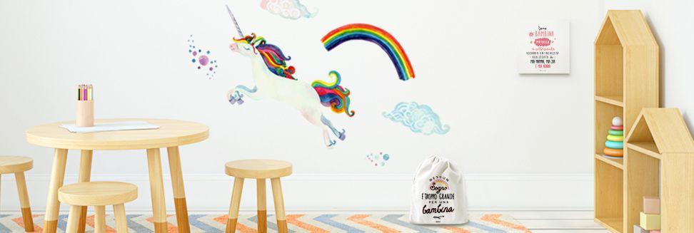 Wallsticker per bambini