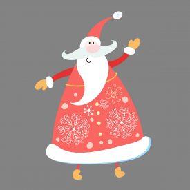 Natale Wallstickers Natale Papa Noel