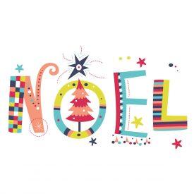 Natale Wallstickers Natale Noel