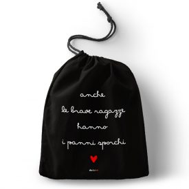 Lifestyle Sacche organizer Brave Ragazze Bag Nera