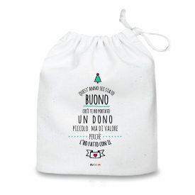 Natale Quadretti cuscini e sacche di Natale Con Il Cuore Bag