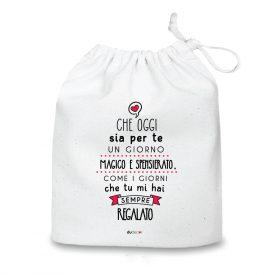 Natale Quadretti cuscini e sacche di Natale Magico Spensierato Bag