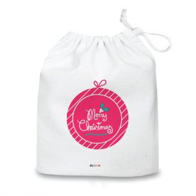 Natale Quadretti cuscini e sacche di Natale Merry Christmas Bag