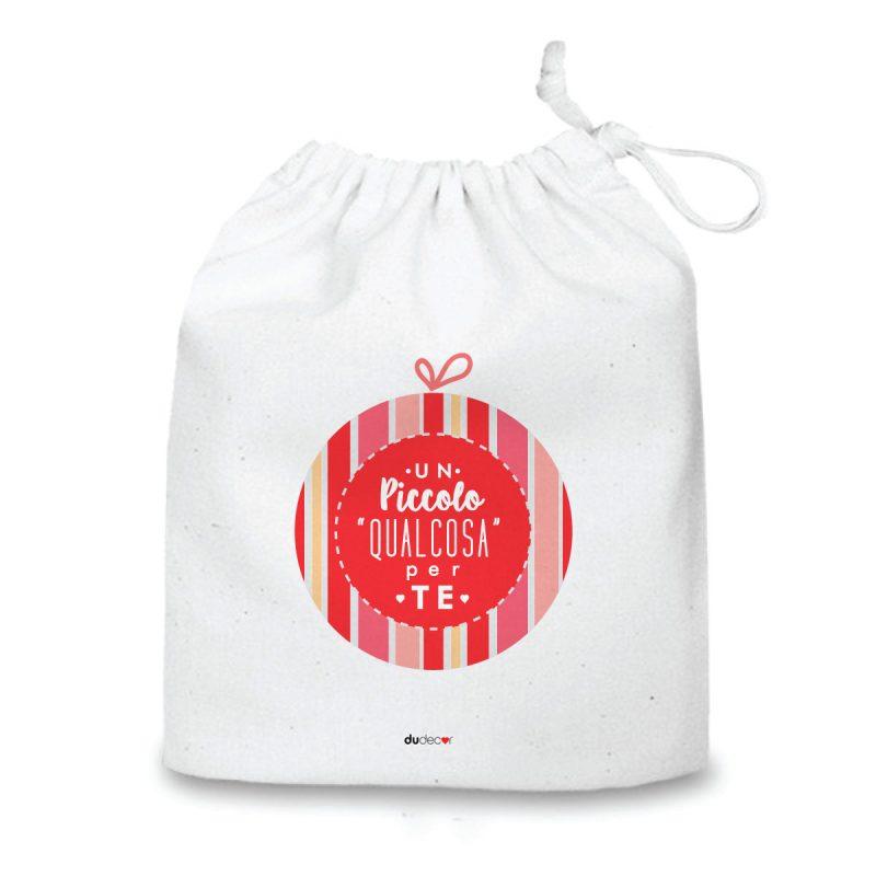 Natale Quadretti cuscini e sacche di Natale Piccolo Qualcosa Bag