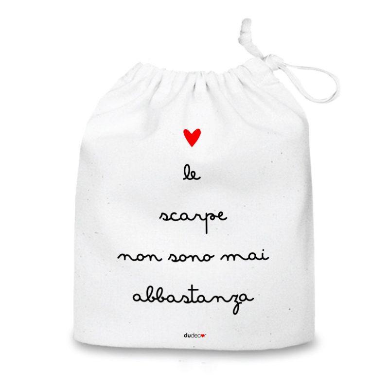 Lifestyle Sacche organizer Scarpe Bag Bianca