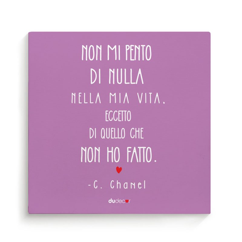 Decorazioni living Canvas Quadretti Coco Chanel Canvas