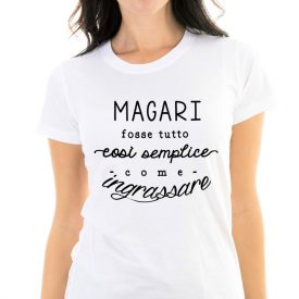 Lifestyle T-shirt T-shirt Ingrassare