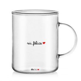 Tavola e cucina Tazze in vetro Felice Mug