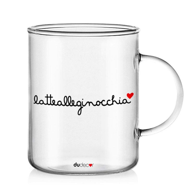 Tavola e cucina Tazze in vetro Latte Alle Ginocchia Mug