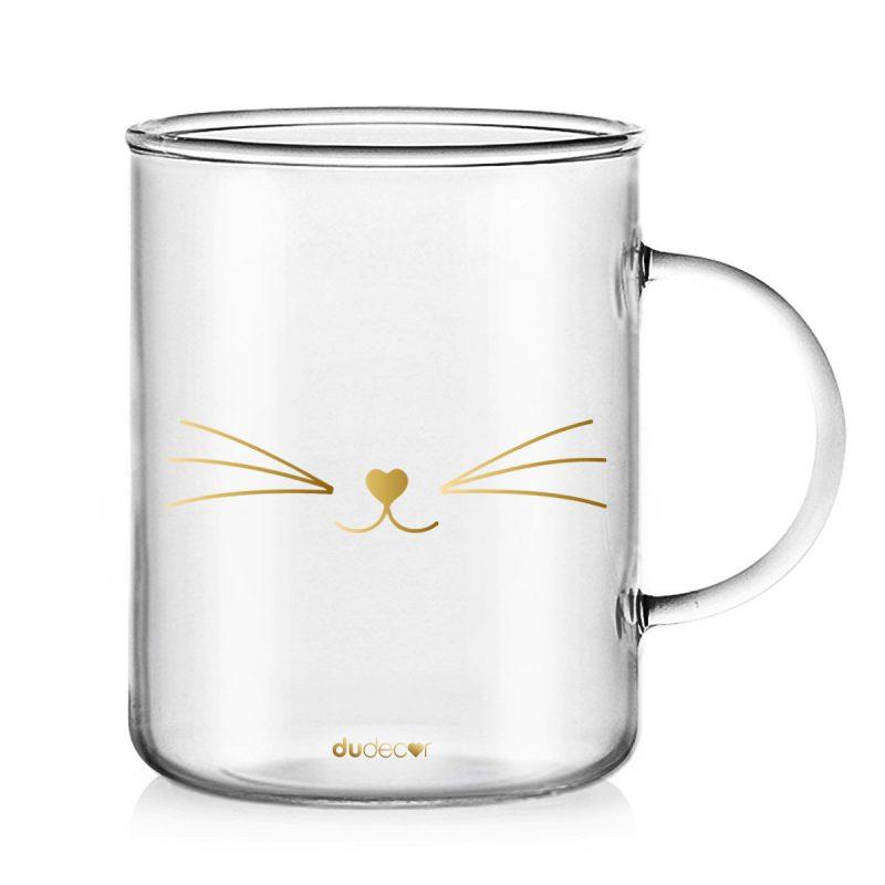 Tavola e cucina Tazze in vetro Mug Gatto