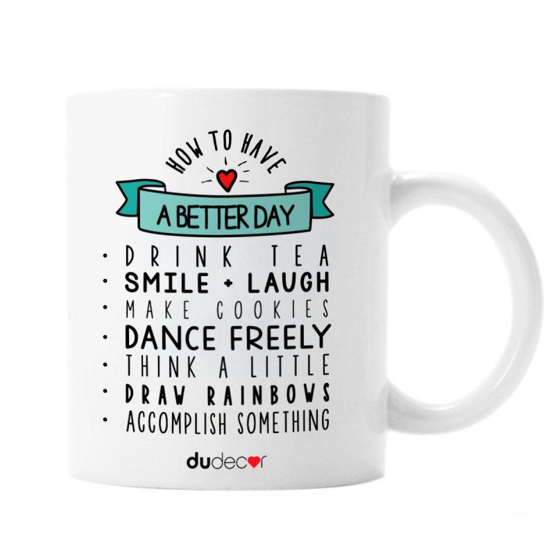 Tavola e cucina Tazze in ceramica Better Day Mug