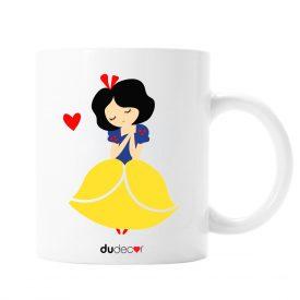 Tavola e cucina Tazze in ceramica Biancaneve Mug