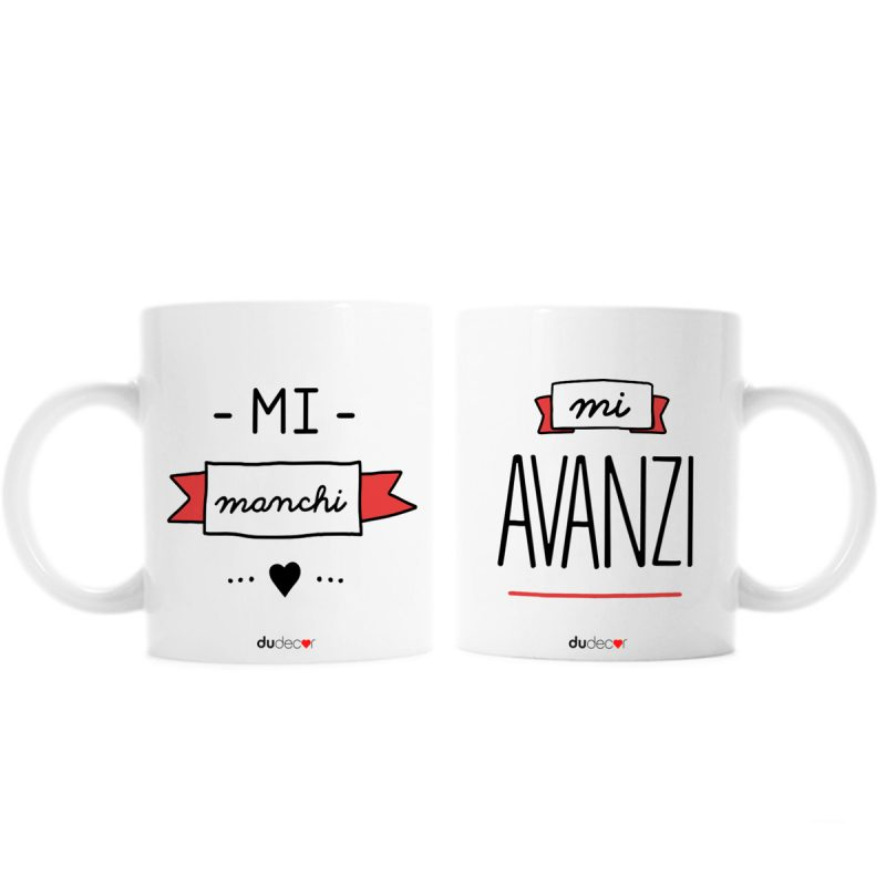Tavola e cucina Tazze in ceramica Manchi E Avanzi