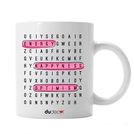 Tavola e cucina Tazze in ceramica Cross Word Mug