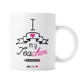 Tavola e cucina Tazze in ceramica I Love My Teacher
