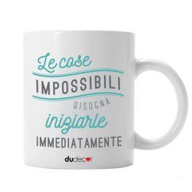 Tavola e cucina Tazze in ceramica Mug Cose Impossibili