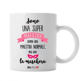 Tavola e cucina Tazze in ceramica Super Maestra Mug