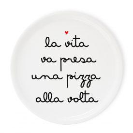 Tavola e cucina Piatti pizza Piatto Pizza Alla Volta