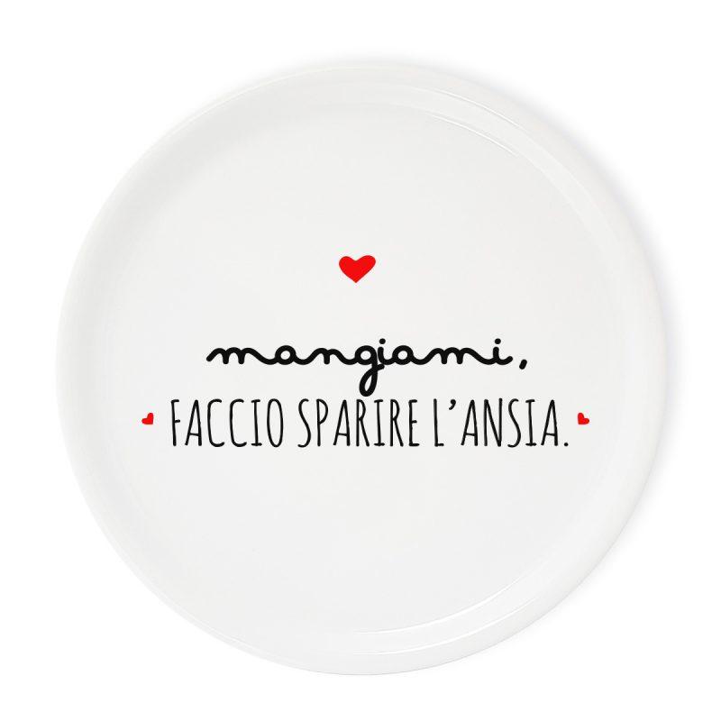 Tavola e cucina Piatti pizza Piatto Pizza Ansia