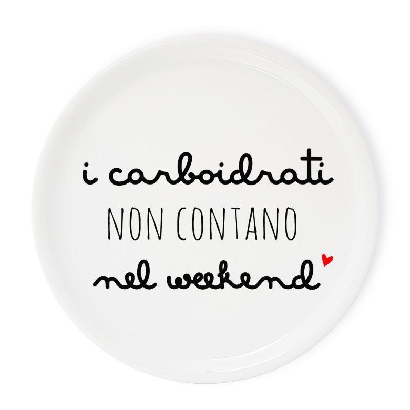 Tavola e cucina Piatti pizza Piatto Pizza Carboidrati