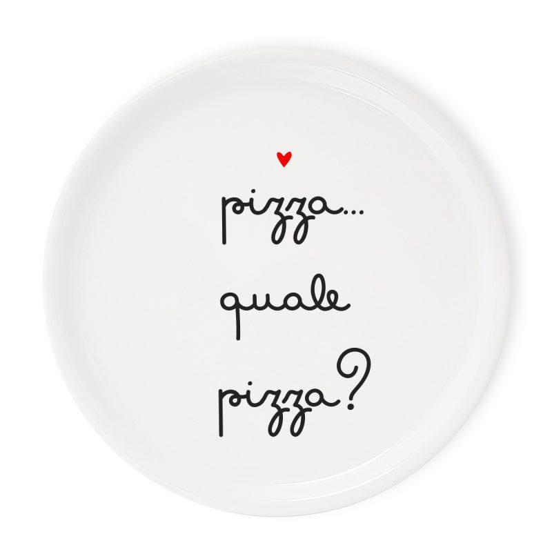 Tavola e cucina Piatti pizza Piatto Pizza Quale Pizza
