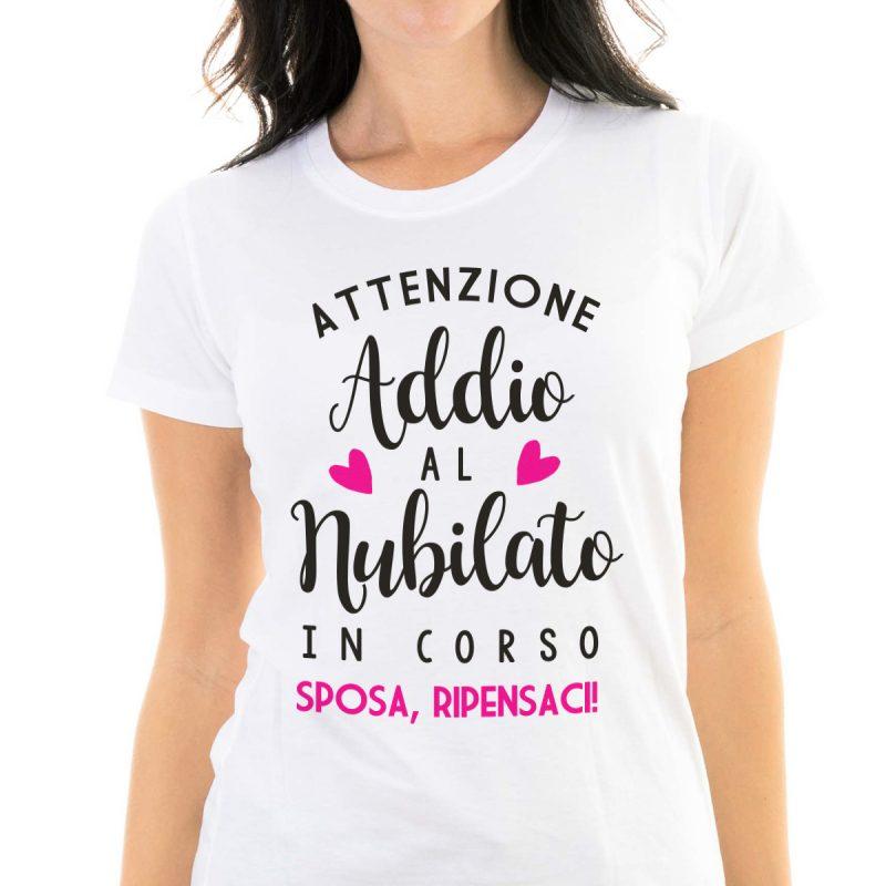 Lifestyle T-shirt Addio Al Nubilato T-shirt Fucsia T-shirt Addio Al Nubilato