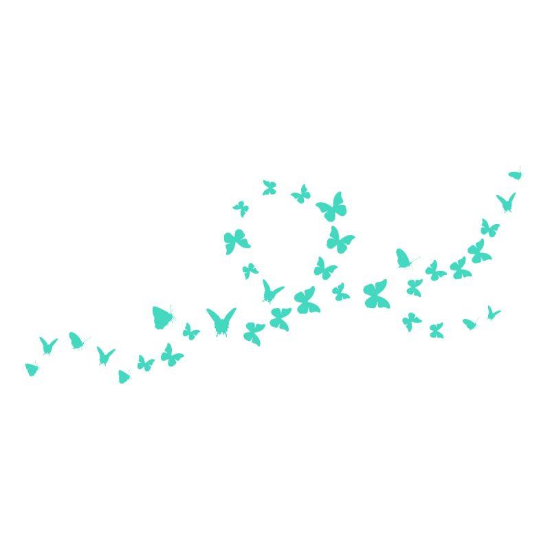 Wallstickers Natura e Viaggi Butterfly