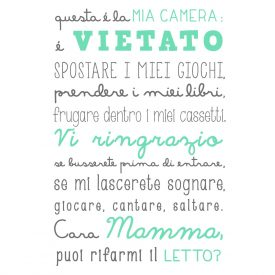 Bambini Wallstickers e luminescenti Camera Mia