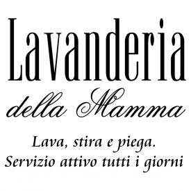 Wallstickers Citazioni Mamma Lavanderia