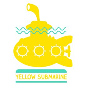 Bambini Wallstickers e luminescenti Yellow Submarine