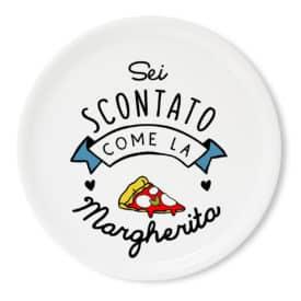 Tavola e cucina Piatti pizza Piatto Pizza Margherita